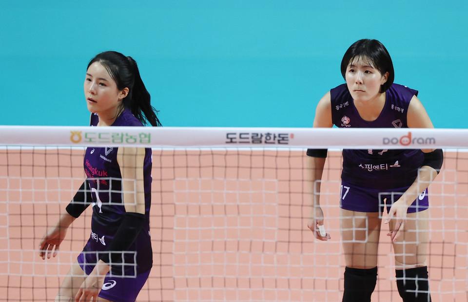 그리스 현지 매체들이 일제히 국제배구연맹(FIVB)이 쌍둥이 자매의 이적을 승인했다고 보도했다. [연합뉴스 자료 사진]